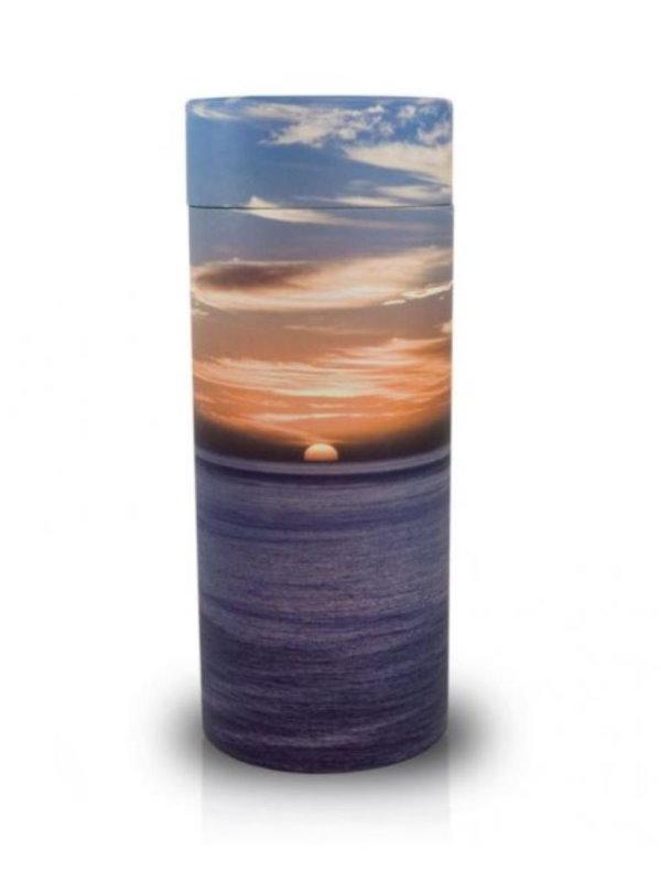 Ocean Sunset Adult Scattering Urn