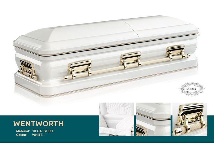 Wentworth Metal Casket