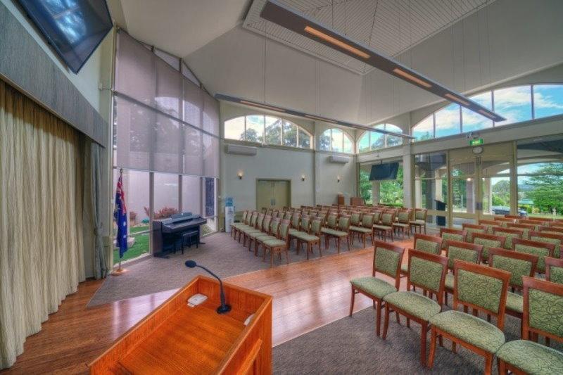 garden chapel castlebrook crematorium guiding light funerals